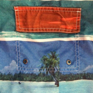 93b1d27dae CORONA Swim - CORONA MEN'S SWIM TRUNKS~SIZE 32~BEACH SCENES